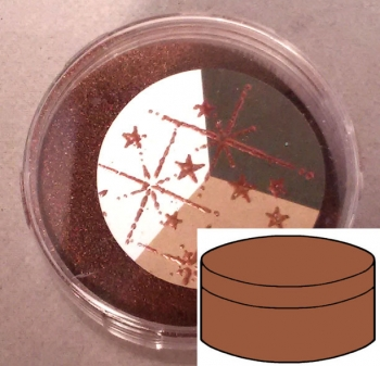 Sternenstaub / Embossing Powder Copper