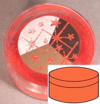Sternenstaub / Embossing Powder Orange