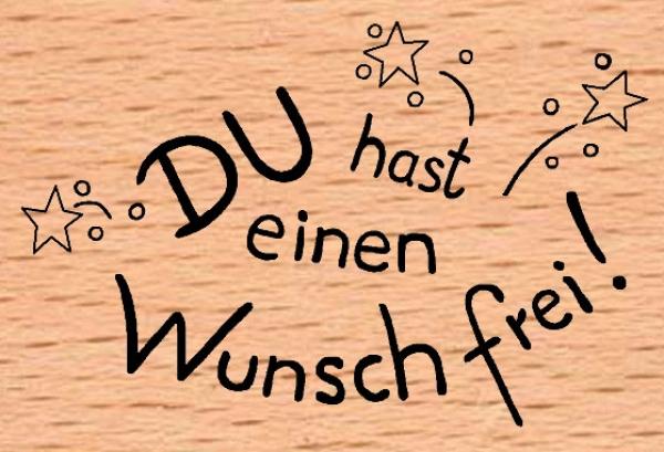 Einen Wunsch Frei